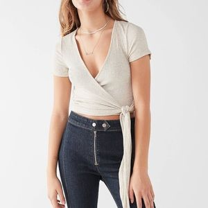 Urban Outfitters Project Social T Bailey Wrap Top